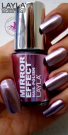 Nagellack LAYLA Mirror Effect COSMO LILAC 02