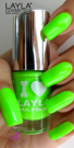 Nagellack LAYLA I Love Layla LIGHT GREEN FLUO 08