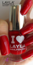 Nagellack LAYLA I Love Layla REDDY RED 23