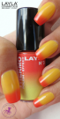 Nagellack LAYLA THERMO COLOUR 03 RED TO YELLOW