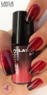 Nagellack LAYLA THERMO COLOUR 07 BORDEAUX TO RED