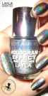 Nagellack LAYLA Hologram Effect FLASH BLACK 08