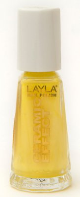 Nagellack LAYLA Ceramic Effect NICE LITTLE YELLOW CE 41