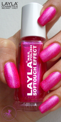 Nagellack LAYLA Softtouch Effect NEON PINK 04