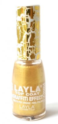 Nagellack LAYLA Graffiti Effect GOLD 07