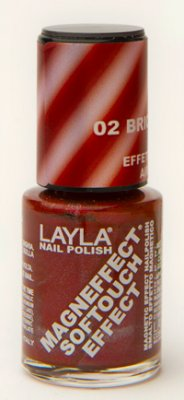 Nagellack LAYLA Magn Effect Softtouch BRICH ORANGE 02