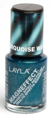 Nagellack LAYLA Magn Effect TURQUOISE WAVE 04