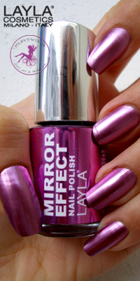 Nagellack LAYLA Mirror Effect PURPLE DIVA 05