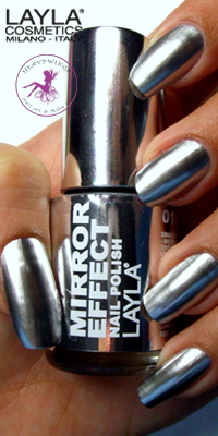 Nagellack LAYLA Mirror Effect METAL CHROME 01