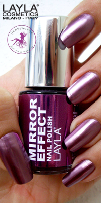 Nagellack LAYLA Mirror Effect RED HOT 06