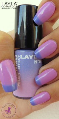 Nagellack LAYLA THERMO COLOUR 06 VIOLET TO LILAC
