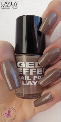 Nagellack LAYLA Gel Effect BEIGE EVOLUTION 04
