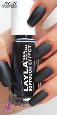 Nagellack LAYLA Softtouch Effect NOIR TOUCH 12