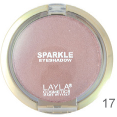 LAYLA SPARKLE EYE SHADOW 17