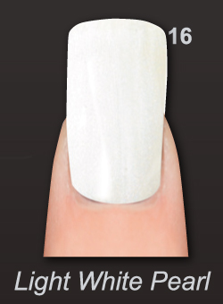 LAYLA GEL POLISH - LIGHT WHITE PEARL 16