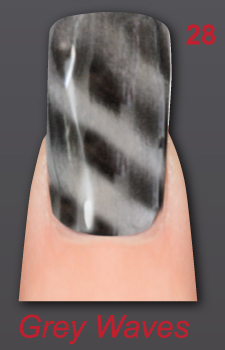 GEL NAGELLACK LAYLA - MAGN EFFECT 28 GREY WAVES