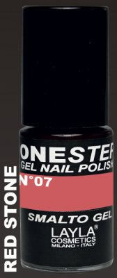 RED STONE 07- ONE STEP GEL POLISH NAGELLACK