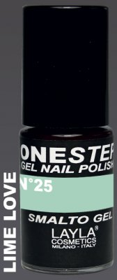 LIME LOVE 25- ONE STEP GEL POLISH NAGELLACK