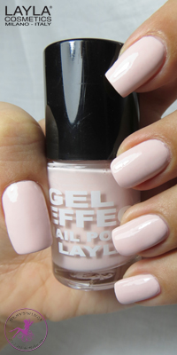 Nagellack LAYLA Gel Effect PRETTY NUDE 20