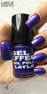 Nagellack LAYLA Gel Effect BLUE PURPLE 25