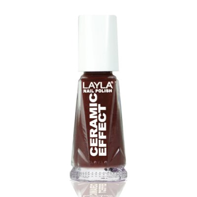 Nagellack LAYLA Ceramic Effect TORRID RED CE08