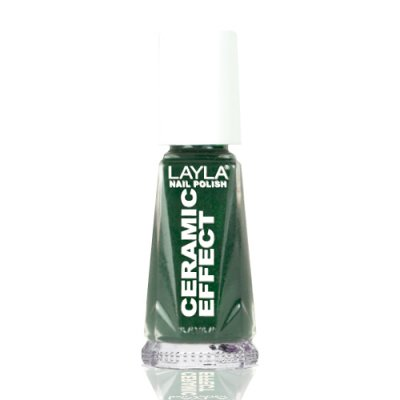 Nagellack LAYLA Ceramic Effect GREEN FEVER CE10