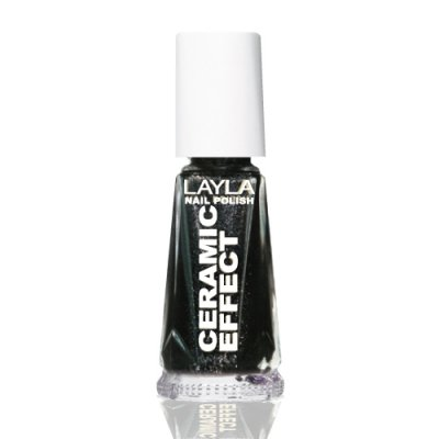 Nagellack LAYLA Ceramic Effect BLACK STAR CE26