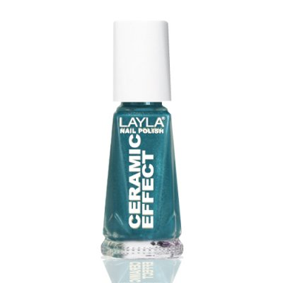 Nagellack LAYLA Ceramic Effect CELEBRITY GREEN CE28