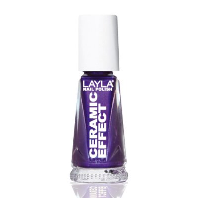 Nagellack LAYLA Ceramic Effect BLACKBERRY CE59