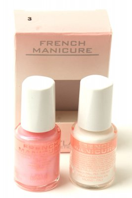 Layla French Manicure LIGHT PINK 03 fransk manikyr set